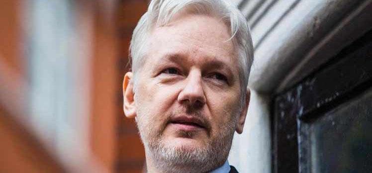 EE.UU. presenta a Reino Unido una solicitud formal para la extradición de Assange