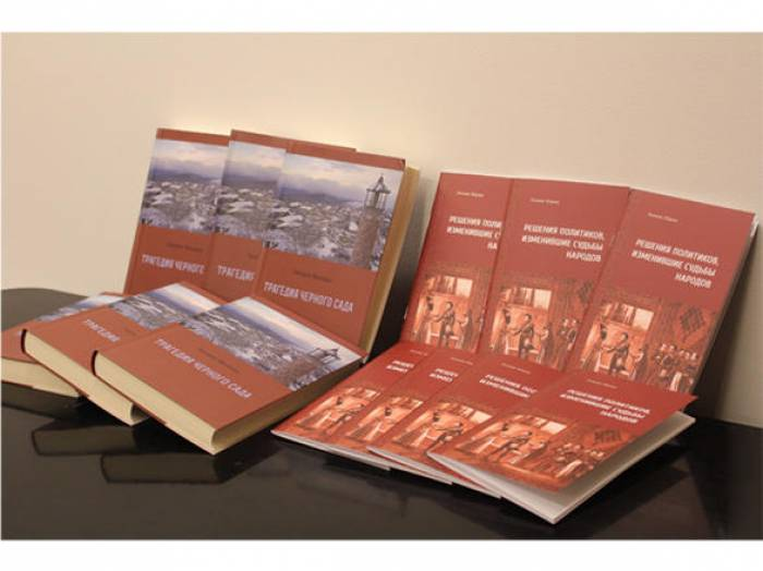 Publicada una serie de los libros que tratan del conflicto de Nagorno Karabaj en Lituania