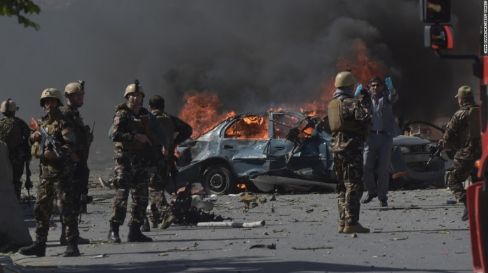 Blast hits Afghan capital Kabul, dozens of casualties