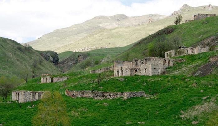 Kalbadschar Region nach der Okkupation - FOTO
