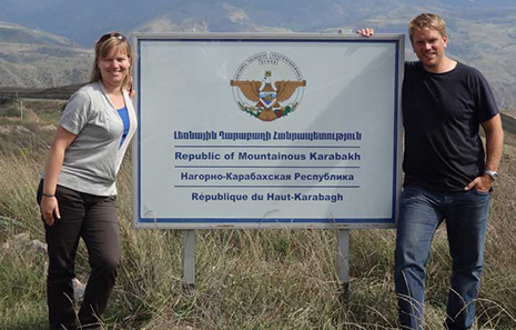 The U.S. City of Highland Recognized the Independence of the `NKR`