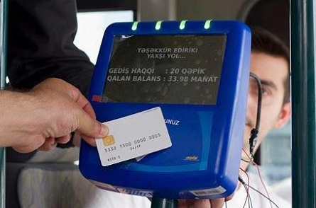 Avtobuslarda kart sistemi sınaqdan keçirilir