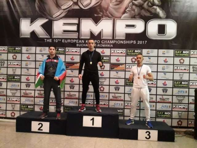 Azerbaijani fighters win six medals at European Kempo