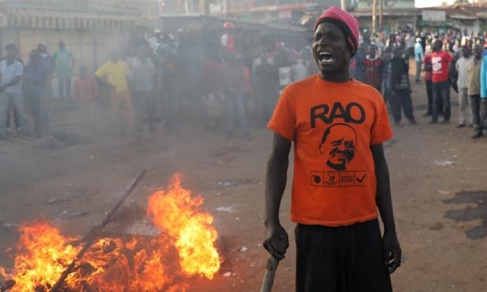 Kenya's deputy leader takes hard line over disputed election win