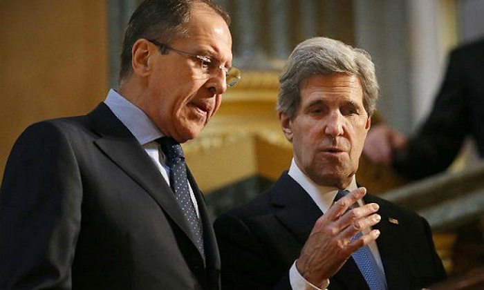 Russia`s foreign minister discussed Syria peace plan with US Kerry
