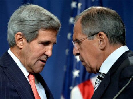 Lavrov və Kerri görüşdü