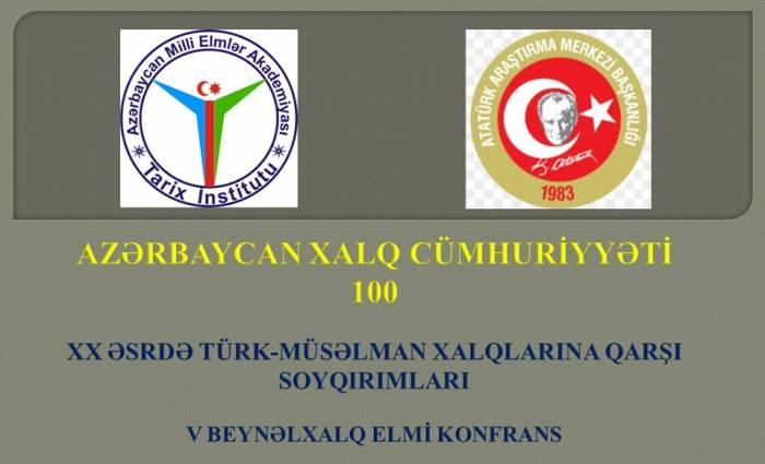 AXC-nin 100 illiyi ilə bağlı beynəlxalq konfrans keçiriləcək