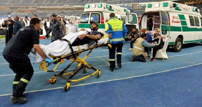 Final oyununda stadion çökdü - 40 yaralı