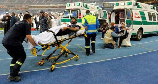 Multiple injuries as barrier collapses after Gulf Cup final in Kuwait