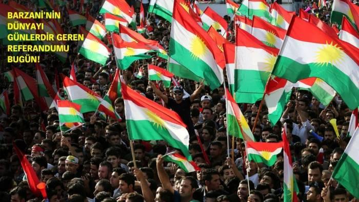 İraq kürdləri müstəqillik referendumu keçirir - (VİDEO)