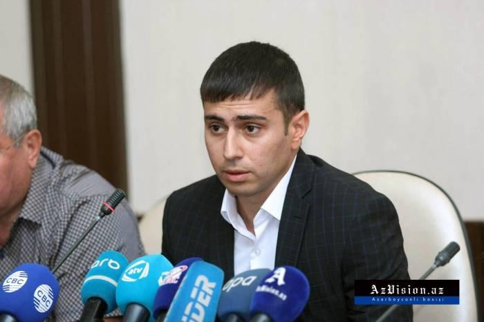 """Dilqəmin oğlu Varşavada deputatlara irad tutub: """"Siz hara baxırsınız?"""" (VİDEO)"""