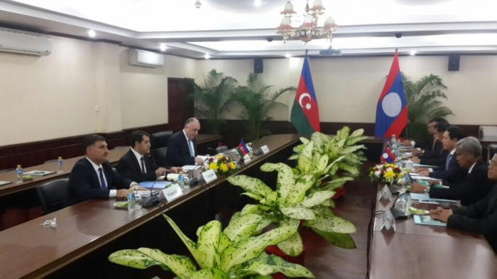 Azerbaijani and Laotian foreign ministries sign MoU