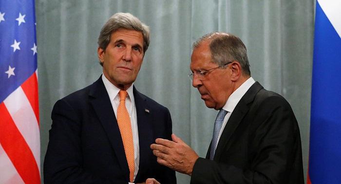 ¿Cuál fue el tema principal de las negociaciones entre Lavrov y Kerry?