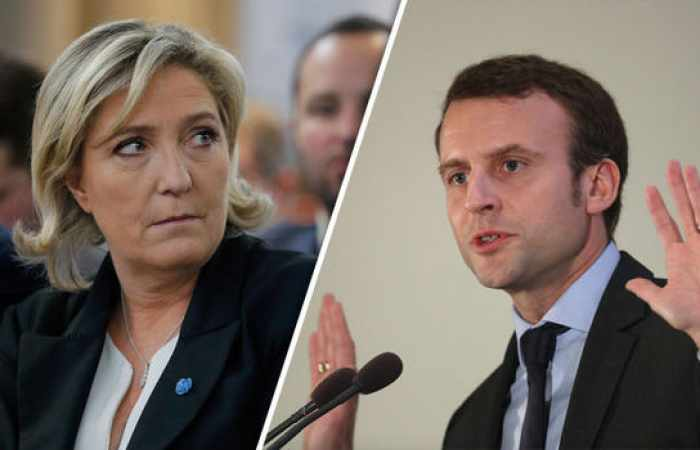 Le Pen loses ground to Macron in French election race - poll