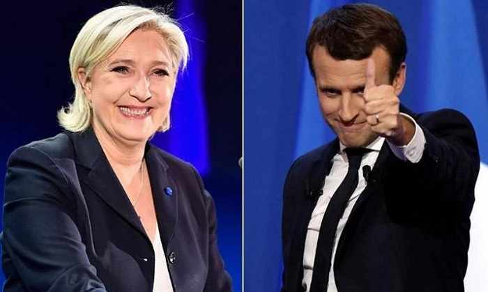 Can Le Pen beat Macron in the French election, despite losing in the first round?
