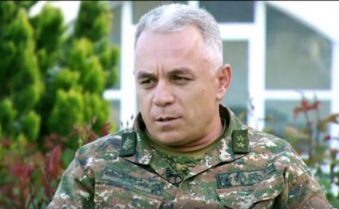 """Erməni generaldan etiraf: """"Orduda insidentlərin sayı artıb"""""""