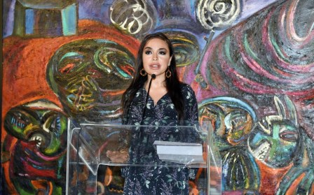 Leyla Əliyeva Venesiyada - FOTOLAR