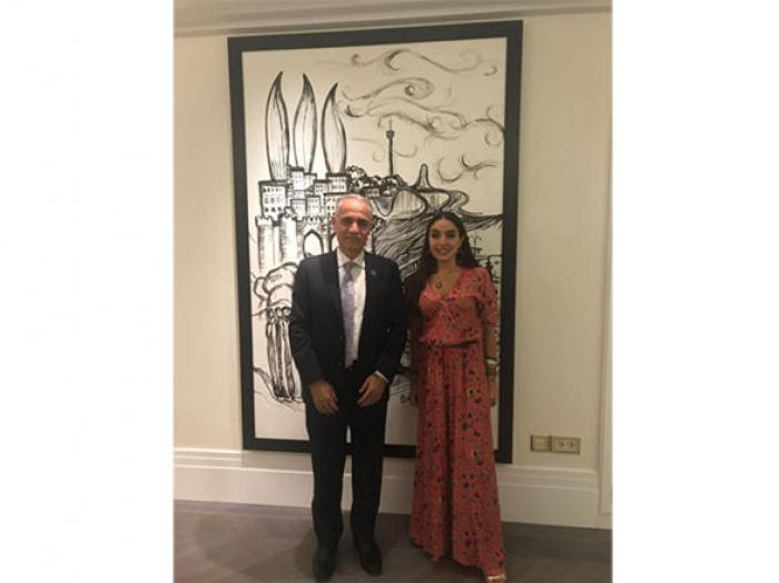 Heydar Aliyev Foundation VP Leyla Aliyeva meets UN resident coordinator in Baku