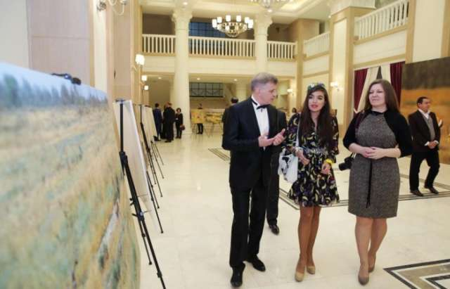 "Leyla Aliyeva attends presentation of ""Azerbaijan. Saving gazelles"" documentary - PHOTOS"