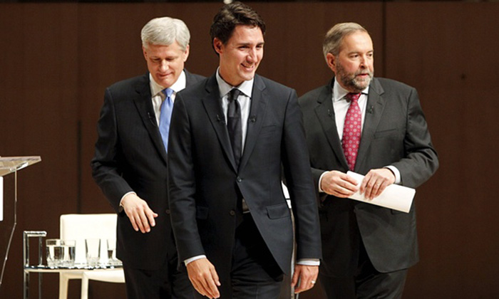 Canada`s Liberal party within reach of election win going into final stretch