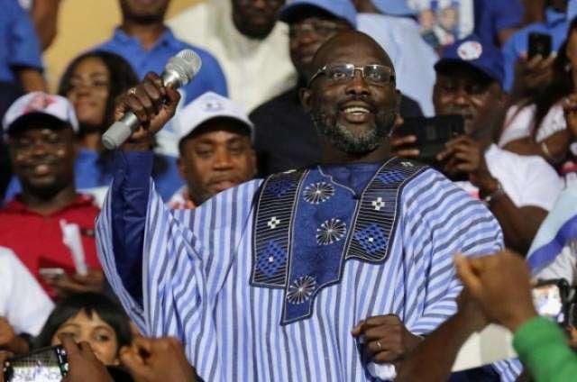 Ex-soccer star 'King George' Weah wins Liberia's presidency