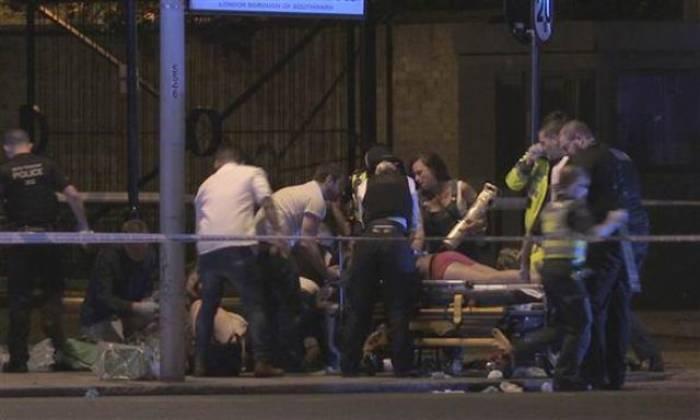 Londondakı terakta görə 12 nəfər tutulub