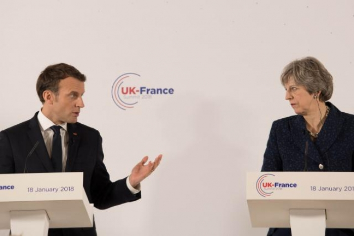 'Be my guest' - France's Macron spells out reasons for Britain to stay in EU
