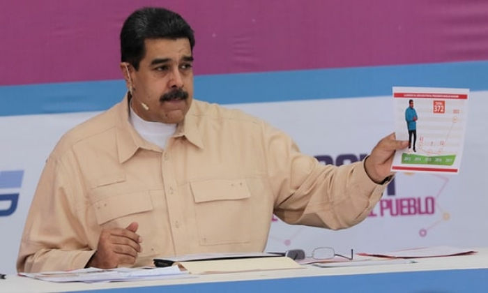 Venezuela to launch cryptocurrency to combat US 'blockade', Maduro says