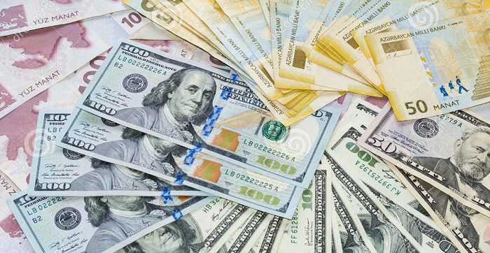 Azerbaijani manat's average rate for Feb. 14
