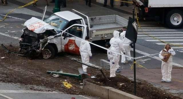 New York terror - Bike path truck attack suspect from Uzbekistan