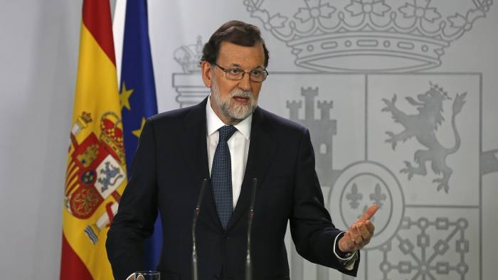 Spanish prime minister demands clarity on Catalan independence