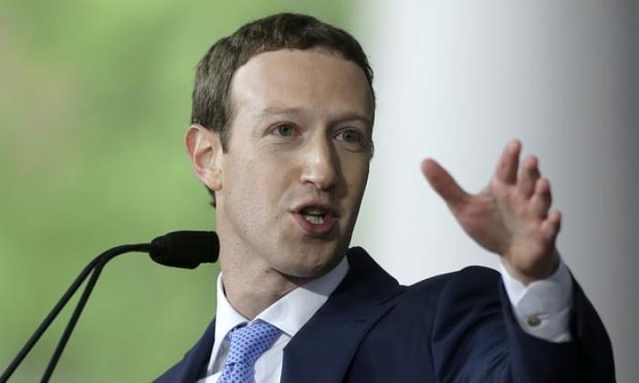 Facebook quarterly revenue up 47% on 2016 as company faces Senate scrutiny