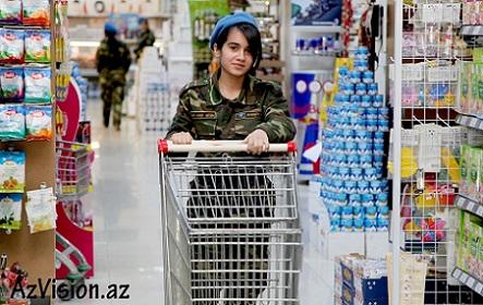 Supermarket yoxsa Hərbi Hissə- REPORTAJ