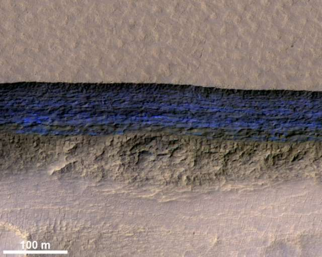 'A fantastic find': Mars hides thick sheets of ice just below the surface