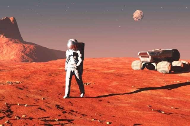 """كشف جديد يساعد البشر على """"العيش"""" في المريخ"""