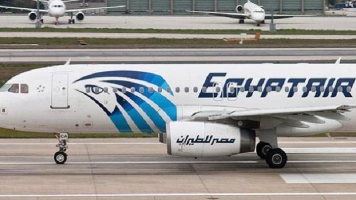 ¿Dónde está el avión egipcio?