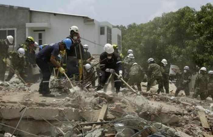 17 morts en Colombie dans l'effondrement d'un immeuble