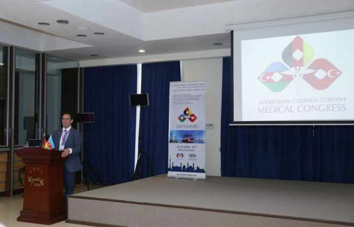 Azerbaijan-German-Turkish Medical Congress gets underway in Baku