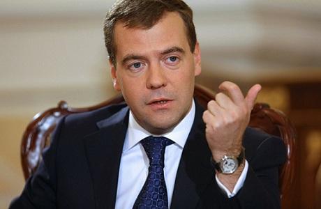 Medvedev congratulates Ilham Aliyev