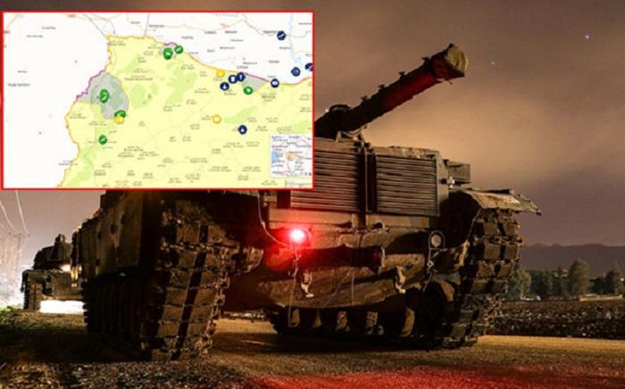 Afrində 9 kənd terrorçulardan azad edilib