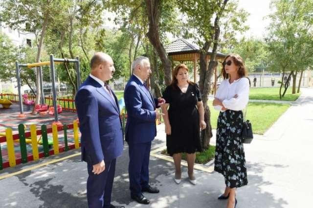 Azerbaijani First VP Mehriban Aliyeva visits Garanfil nursery-kindergarten - PHOTOS