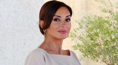 Mehriban Əliyeva Kannda - FOTOLAR