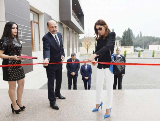 First VP Mehriban Aliyeva inaugurates new building of music school named after Rostropovichs