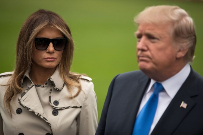 Has Melania Trump hired body double to avoid the president?