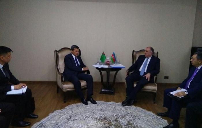 Azerbaijani, Turkmen, Turkish FMs holding meeting in Baku