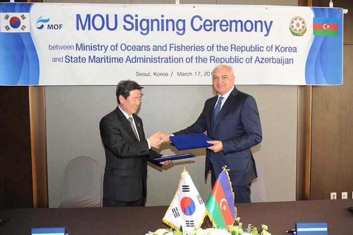 Azerbaijan, South Korea expanding co-op in maritime transport