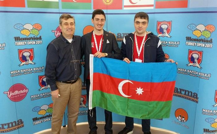 Azərbaycanlı gənc yaddaş çempionu oldu – Foto+Video