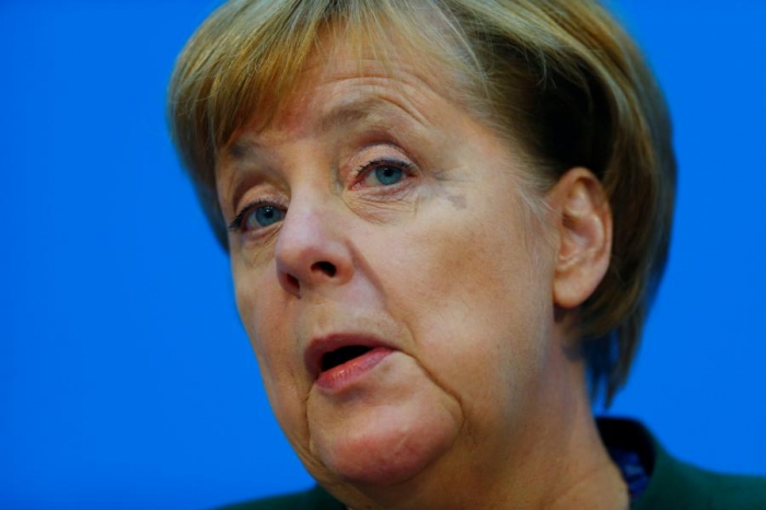 Europe, global environment mean Germany needs stable government, Merkel says