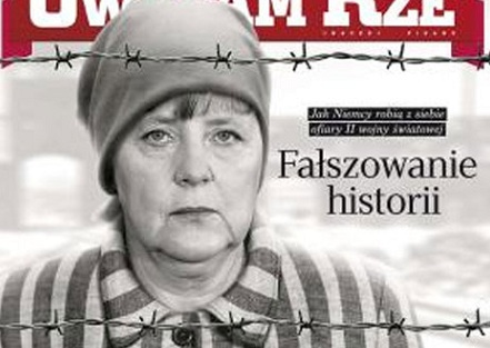 Qalmaqal Merkelin başında çatladı - FOTO