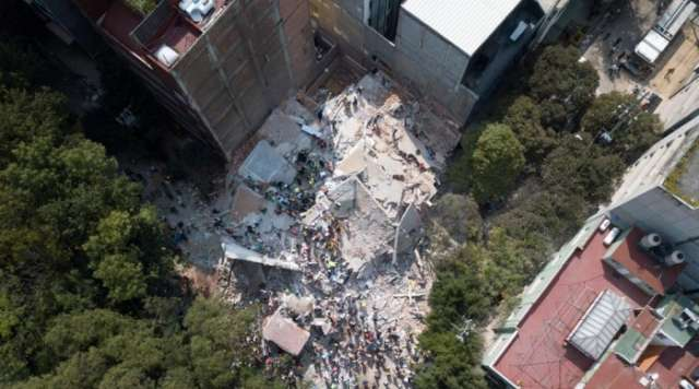 Mexico earthquake: at least 216 dead after powerful quake - UPDATING